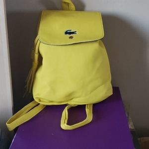 Other - Yellow mini back pack